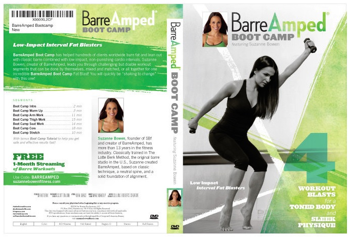 Suzanne Bowen's Barre Amped Boot Camp DVD