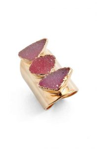 Nakamol Design Drusy Ring for Valentine's Day