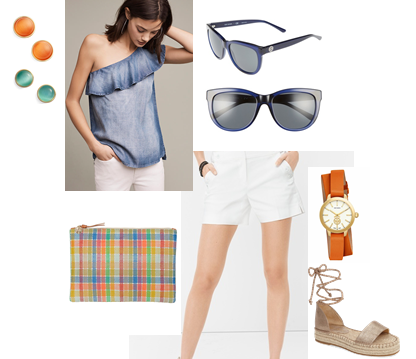 Resort Wear Casual Shorts Look