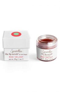 Sprinkles Red Velvet Lip Scrub for Valentine's Day