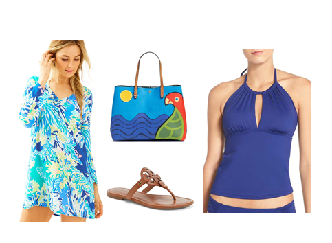 Swimwear Look 4: Fun Brights