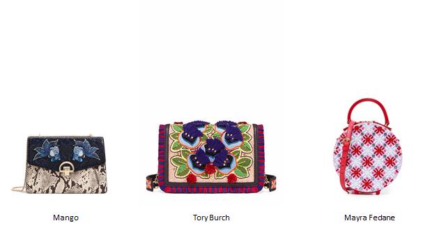 Handbag Trends: Prints/Appliques
