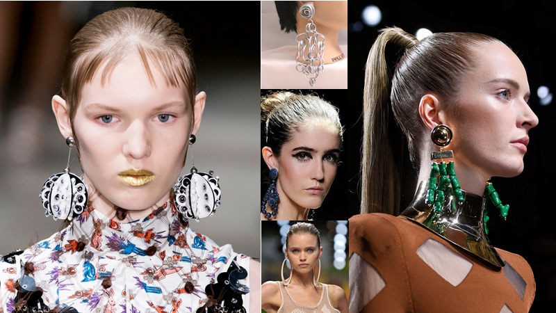 Jewelry Trend: Oversized Earrings