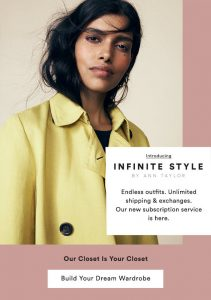 Clothing Rental | Ann Taylor Infinite Style