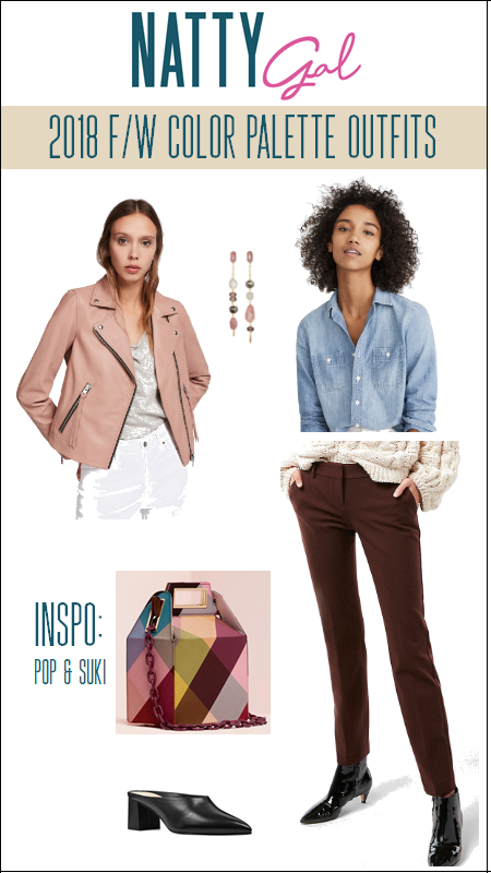 2018 Fall/Winter Color Trends | Pantone Fall Colors | Fall Outfit Ideas