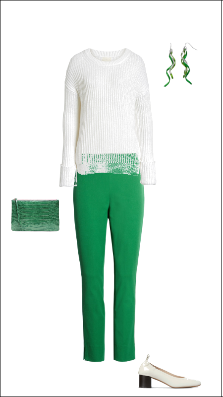 St. Patrick's Day outfits | Work Outfit | Green clothes