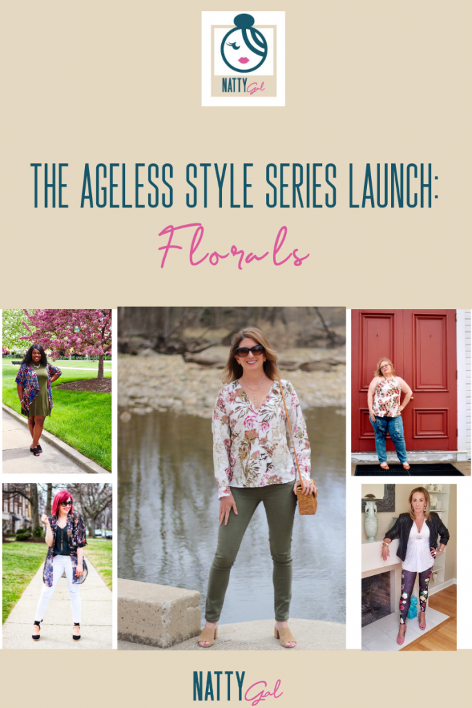 Ageless Style | 5 Ways to Wear Florals