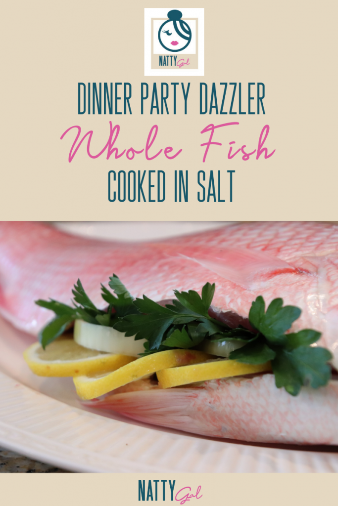 Whole Fish Cooked in Salt | Salt Baked Fish | Red Snapper Recipe | Branzino Recipe