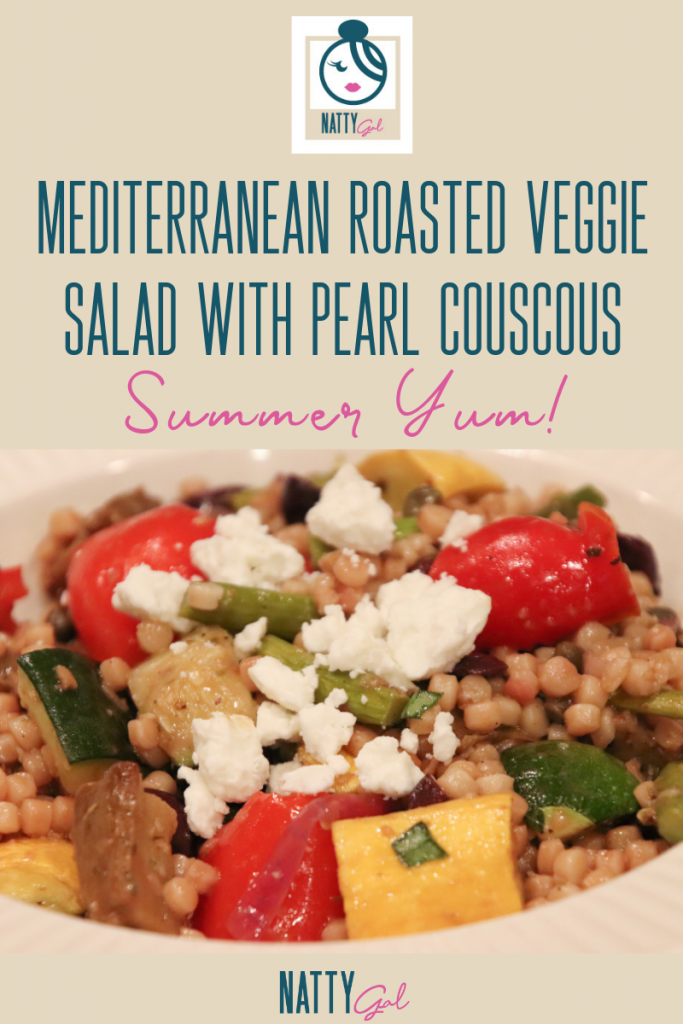 Roasted Veggie Salad | Roasted Veggie Summer Salad | Meatless Monday