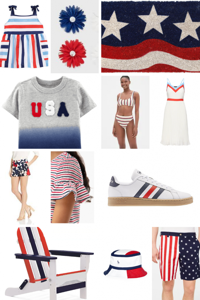 Looks for July 4th | Patriotic Outfits | Red, White and Blue Outfits