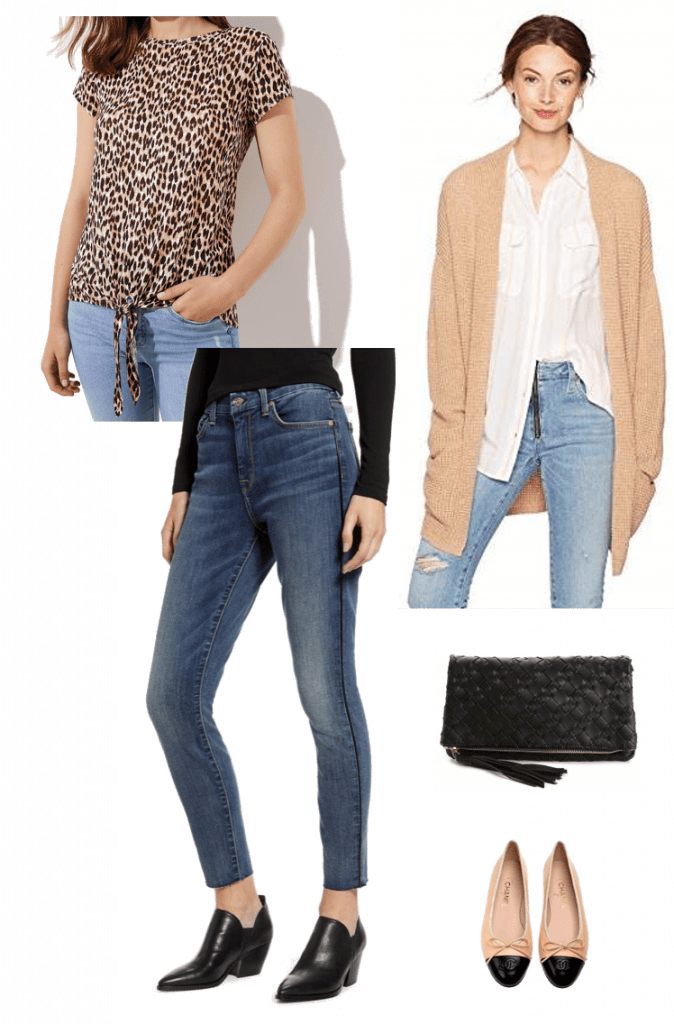 Leopard Print Summer to Fall | Leopard Tee | Casual Fall Looks