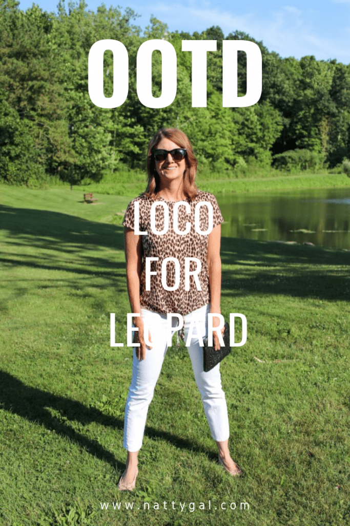 Leopard print summer to fall? You'll be loco for the three great looks I'm showing today - all with a simple leopard tee as the base! #leopardprint #outfits