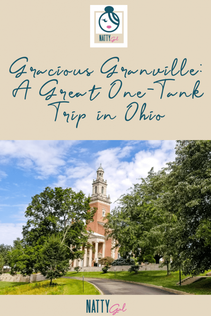 Granville Ohio | Things to Do in Granville Ohio | Denison University | One Tank Trips Ohio | Charming Towns of the US