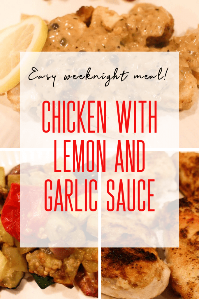Chicken with Lemon and Garlic Sauce | Easy Chicken Recipes | Fall Recipes