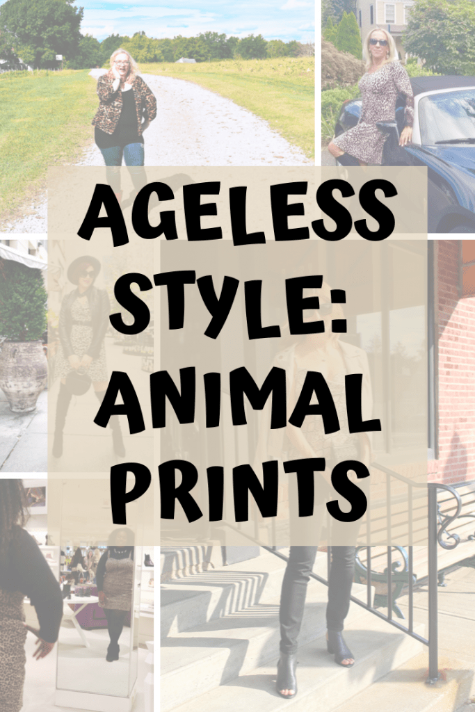 5 Different Women, 5 Stellar Styles | Check out how the Ageless Style ladies wear animal prints!