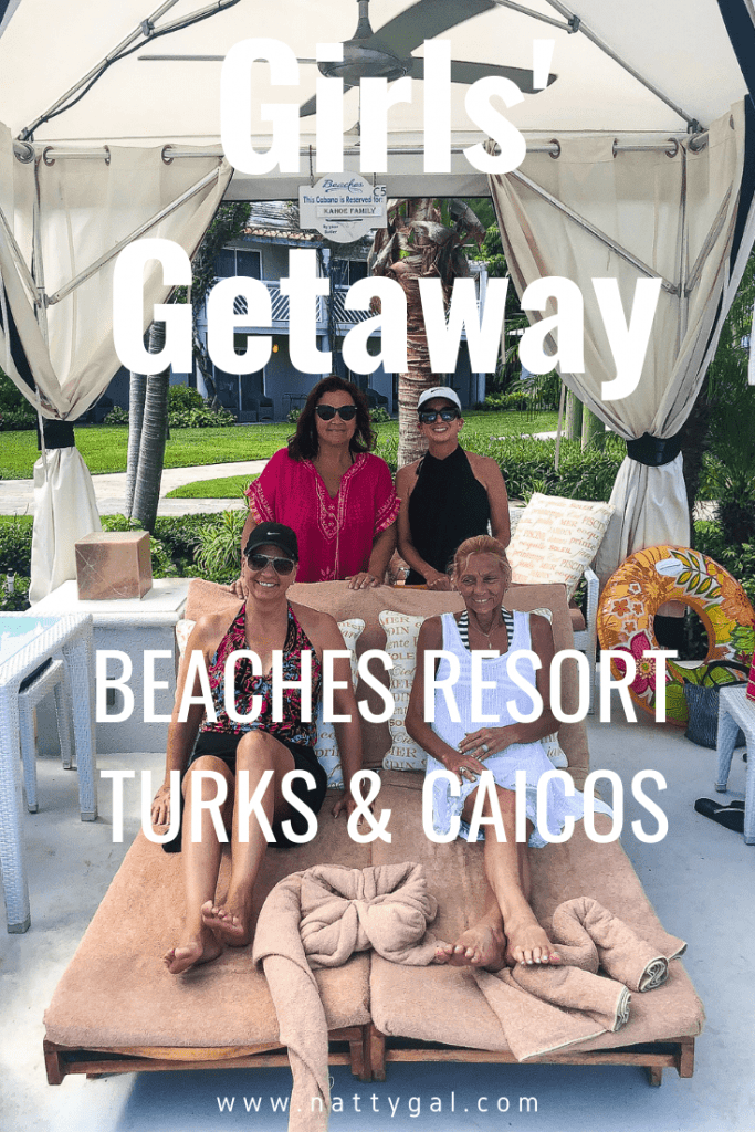 Last week I was off enjoying a fantastic girls' getaway to the Beaches resort in Turks & Caicos!  With warm water in every imaginable shade of blue, you're going to want to add this idyllic island to your travel bucket list! #Turks&Caicos #BeachesResorts #GirlsGetaway