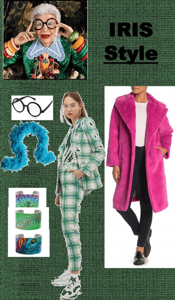 Fashion Icon Inspired Halloween Costumes | Iris Apfel