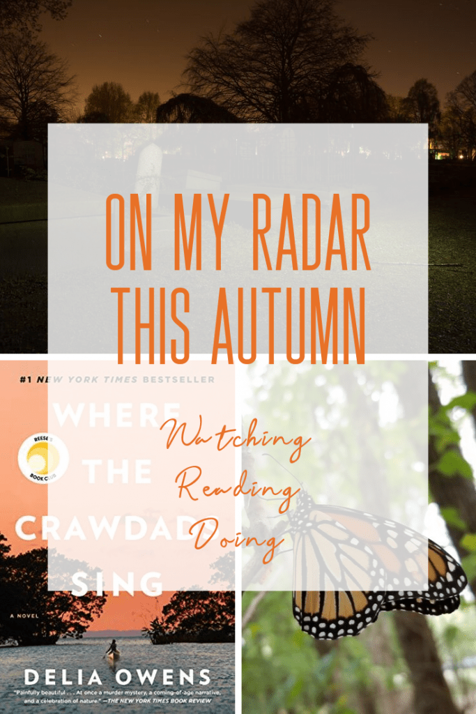 Today I'm sharing all the fun things on my radar this Autumn!