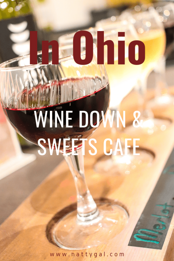 In Northeast Ohio?  Come discover Wine Down & Sweets Cafe, a local gem for wine lovers with all the cozy, non-bar like feels!