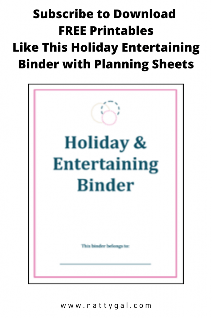 Organization Tips for a Stress-Free Holiday | Holiday Organizing | Organized Entertaining