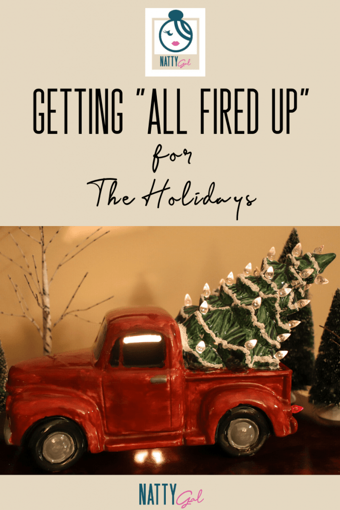 """I recently got """"All Fired Up"""" for the holidays by painting my own pottery! It makes a great, personal gift idea and is a fun time with friends, to boot!   #paintyourownpottery #groupcrafts #girlsnightout"""