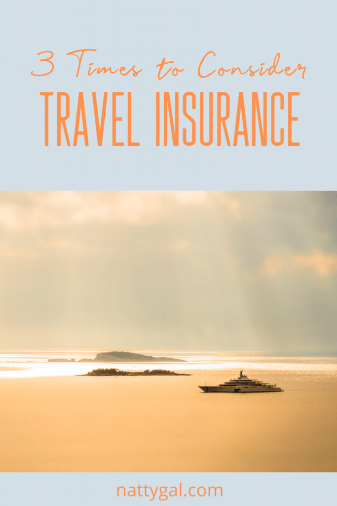 Cancelling a long-planned vacation due to a medical emergency is a more common occurrence than you might think!  Today we're talking about the three times you should consider travel insurance as a way to protect your investment.  #tripinsurance #travelinsurance #cruise #tour