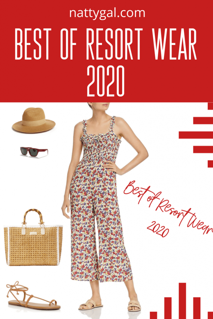Do have a trip planned for spring break?  Or are you just eagerly awaiting the arrival of summer with it's warmer days and longer nights?  Well, today you are in luck because I am sharing the best of the best resort wear looks for 2020.  For day, swim or evening, this post is sure to have something to inspire you!