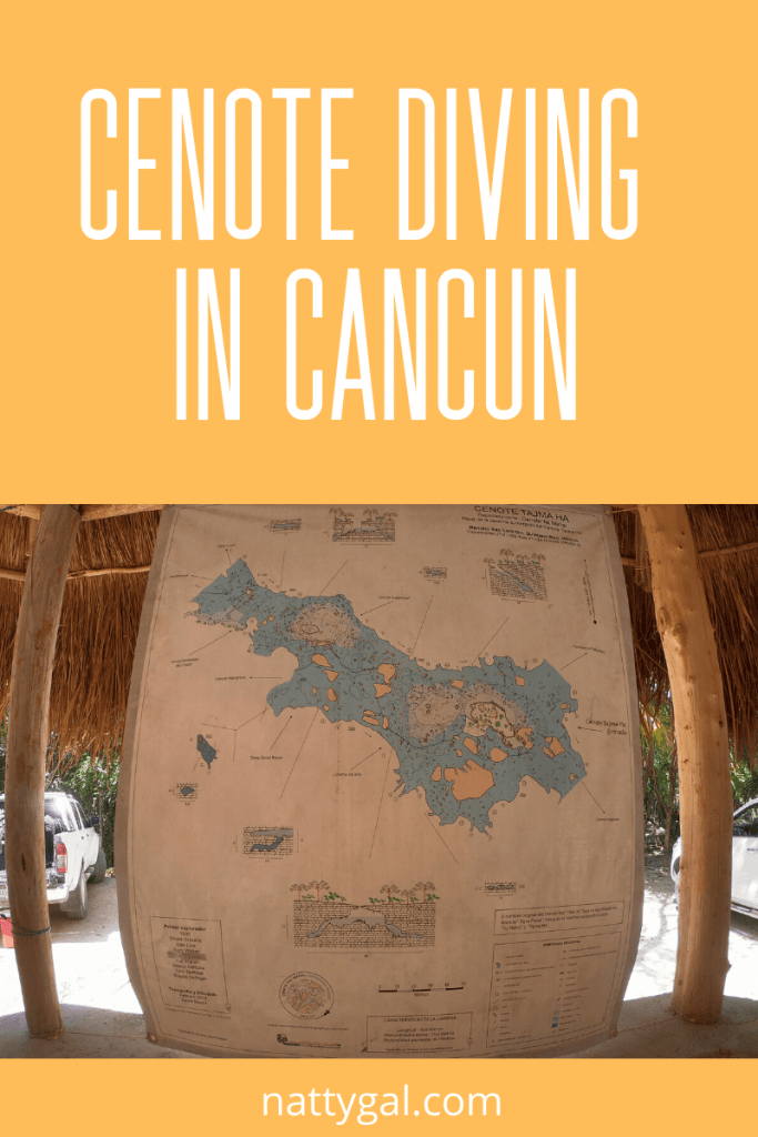 Cenote Diving | There is more to Cancun than sunburn and Senor Frogg's!  Today we're taking a day trip to Isla Mujeres and talking cenote diving at Tajma Ha. #cenotediving #islamujeres #cancun