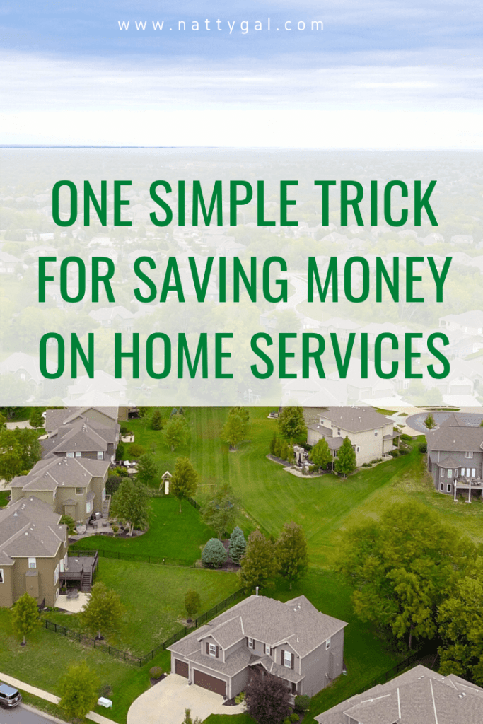 Nobody likes spending money on routine home maintenance so today I'm sharing one simple trick for saving money on home services! #moneysaver