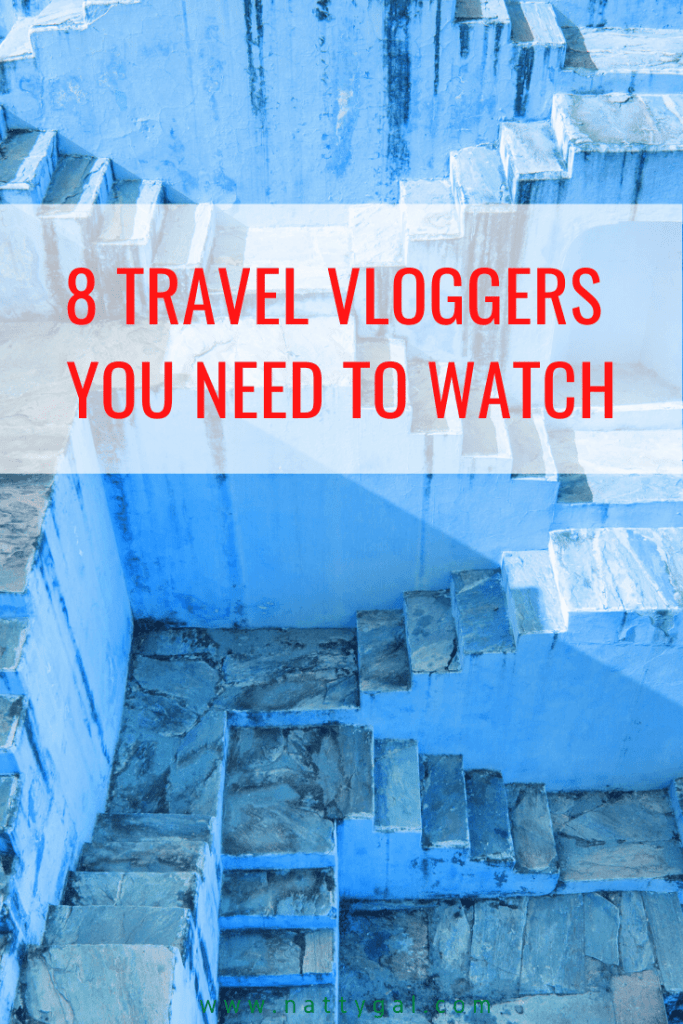 Travel may be on hold but our ability to daydream most certainly is NOT! Today I'm sharing eight favorite travel vloggers that you need to watch! #travel #travelvloggers #travelvideo