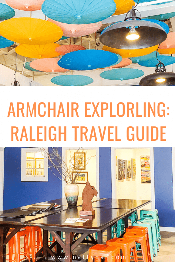Since we can't actually travel anywhere right now, I thought that today I'd take you on an armchair tour of Raleigh, North Carolina!  Bookmark this Raleigh Travel Guide, because when we're free to get out and about again, this city merits a visit.