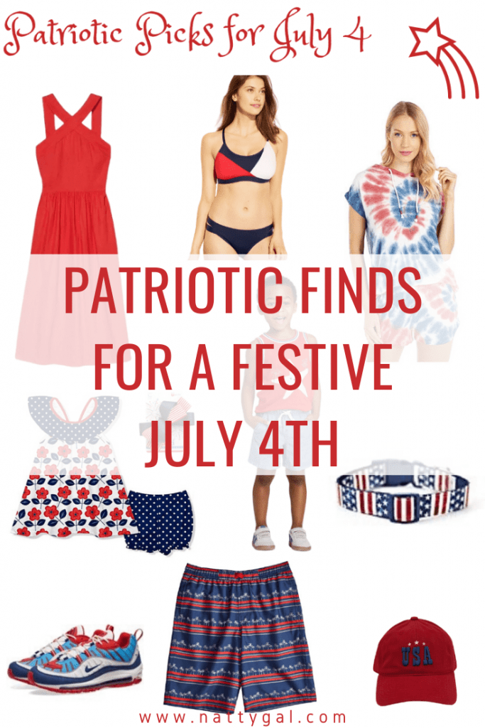 Red, white, and blue is a sure sign of summer!  Today I've curated some of the best in patriotic finds in both home decor and clothing for 2020.