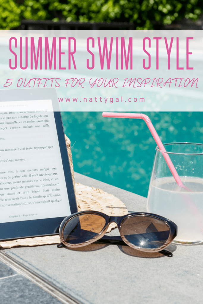 Summer Swim Style | If you've been itching to update your summer swim style, now is a great time to shop! Go on - treat yourself to something fresh for the holiday! #swimwear