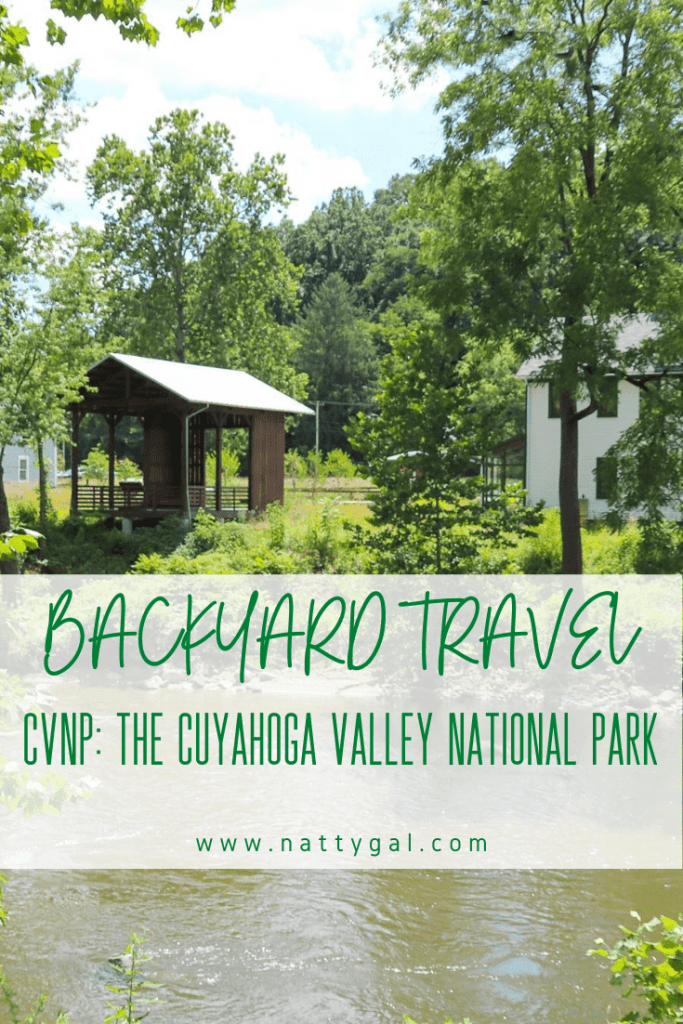The Cuyahoga Valley National Park (CVNP) is a great place for backyard travel in the Northeast Ohio area! #cuyahogavalley #cvnp