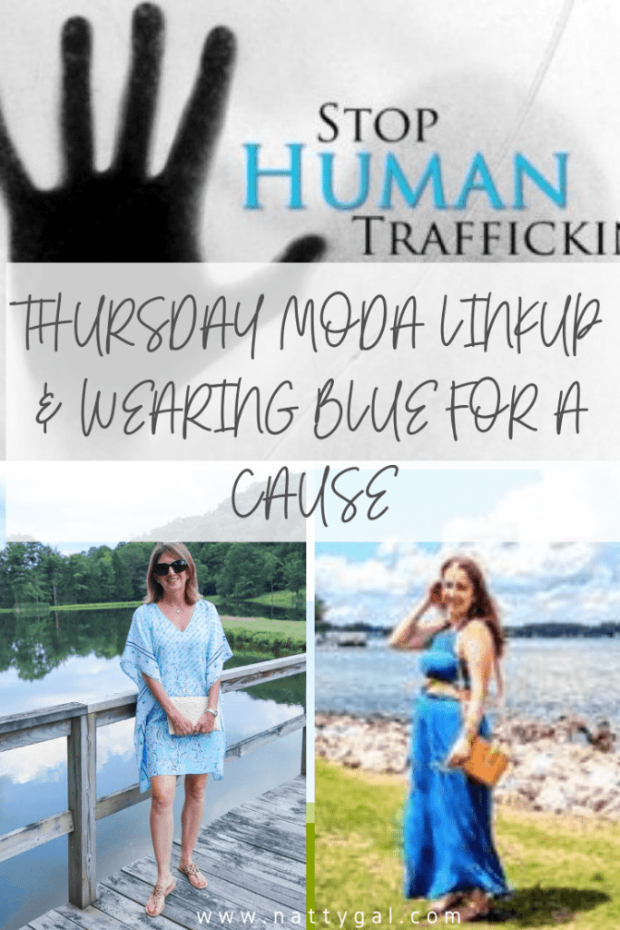 Human Trafficking is happening in YOUR state.  Check out today's post to learn more about this insidious crime. #humantrafficking Blue for Human Trafficking | Human Trafficking Awareness
